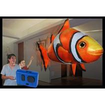 Air Swimmers Tiburon Y Nemo Volador A Control Remoto