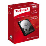 Disco Duro Interno Laptop Toshiba 500gb L200 2.5 5400