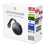 Google Chromecast 2 Sellado Hdmi Smart Tv Android Ios