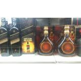 Whiskys Red Label Black Label Chivas Old Parr Swing Vodkas