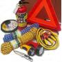 Auto Set Extintor Triangulo 2 Linternas Cable Navaja Extras