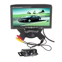 Pantalla Lcd 7 Video + Camara De Retroceso Para Autos Carro