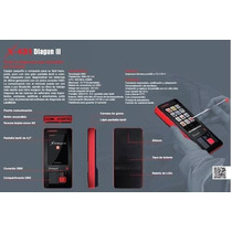 Scanner Multimarca Automotriz X431 Diagun 3 Launch Promocion