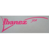 Stickers Ibanez Para Pegar En Tu Guitarra