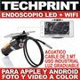 Endoscopio 3 Mt Wifi Inspeccion Industrial Luz Led Acuatico