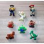Toy Story Jibbitz Pines Adornos Crocs 8 Unid X 20 Soles