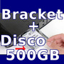 Adaptador Bracket Ps3 Super Slim 12gb + Disco Duro 500gb