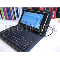 Funda Teclado Para Tablet Pc Notebook Android 7