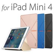 Ipad Mini 4: Smart Case Funda Protector Rock +mica De Vidrio