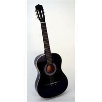 Guitarra Acustica Pack Funda Uña Dvd Toda Calidad Marca Mode