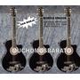 Guitarra Electroacustica Madera Pino Para Niños Y Adultos