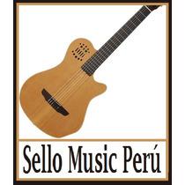 Guitarra Tipo Godin Acústica Nacional.