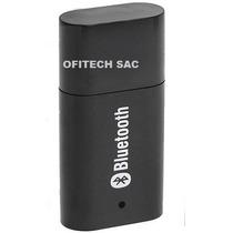 Bluetooth Para Auto Parlantes Equipos De Sonido + Cable Jack