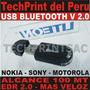 Usb Bluetooth Edr 2 100 Mt Celulares Nokia Sony Motorola Etc