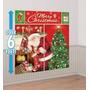 Papá Noel - Decoración De Navidad Para Pared