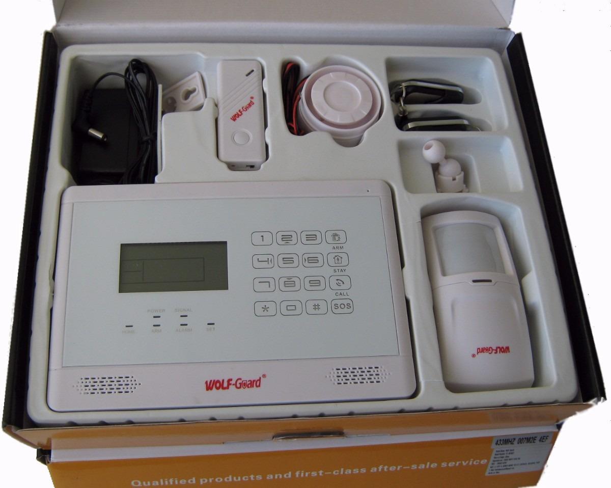 Alarma gsm llamadas al celular o fijo para casa o oficina s 490 00 en mercadolibre - Alarmas para casa precios ...