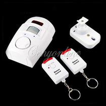 Alarma Sensor De Movimiento Detecta Max 10 M Control Remoto