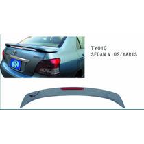 Spoiler Aleron Cola De Pato Toyota Yaris 2006-2013 Sedan