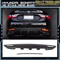 Difusor Posterior Hyundai Sonata 11- 13 En Extreme Racing