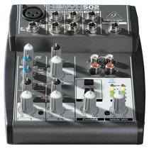 Mezcladora Mixer 5 Canales Behringer Xenyx 502