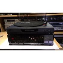 Amplificador Ecualizador Sony + Tornamesa Analogico Japan