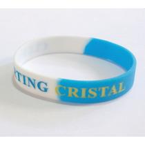 Pulseras Silicona Sporting Cristal