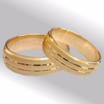 Aros Matrimonio Oro 18k