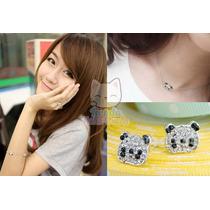 Neko Lucky Accesorios-set Panda-anillo Aretes Pulsera Collar