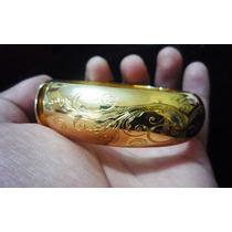 Brazalete De Oro Amarillo De 18k