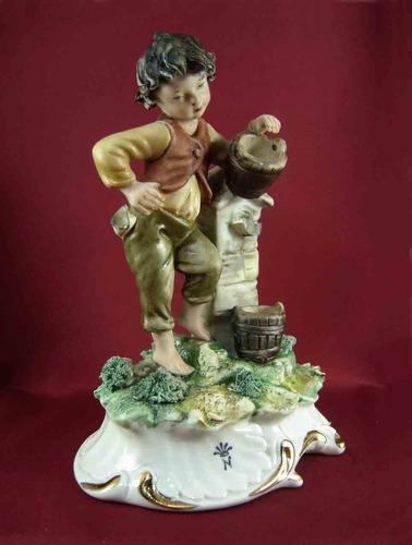 Antigua figura italiana capodimonte porcelana biscuit s for Porcelana italiana
