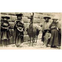 Rara Foto Atribuida A Martin Chambi. Familia En Cusco