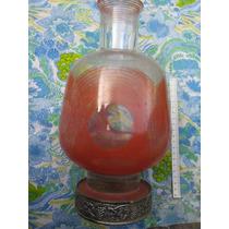 Mundo Vintage : Antiguo Florero Forma De Botellon