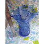 Mundo Vintage: Antiguo Florero Murano Azul Ayt