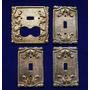 Tapa De Interruptores Antiguos De Bronce