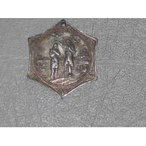 Medalla De Bautizo De Plata