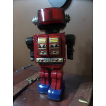 G25 Antiguo Juguete Robot De Lata Hojalata Coleccion