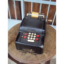 Ev Antigua Sumadora Calculadora Remington Rand