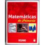Libro Matemáticas De Primaria Océano + Cd-rom