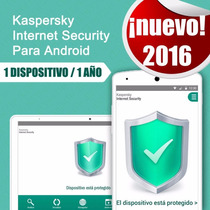 Kaspersky Internet Security Para Android. Tablet Y Celulares