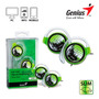Audifono Genius Ghp-300b Ultra Slim Clip On Green