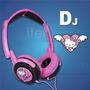 Audifono Hello Kitty Dj Plegable Pink Original Itelsistem