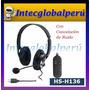 Audifono Usb Con Microfono Hs-h136 Cancelación De Ruido