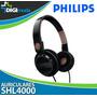 Audifono Philips Shl 4000 Para Mp3, Ipod, Pc, Laptop, Mp4