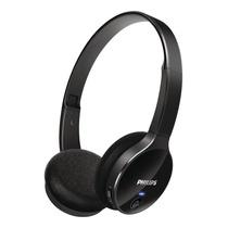 Audifono Philips Shb4000 Bluetooth Blanco Y Negro Microtics