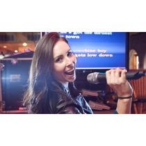 Karaoke Top + Disco Externo 1tb + 2 Micrófonos + Videos Hd