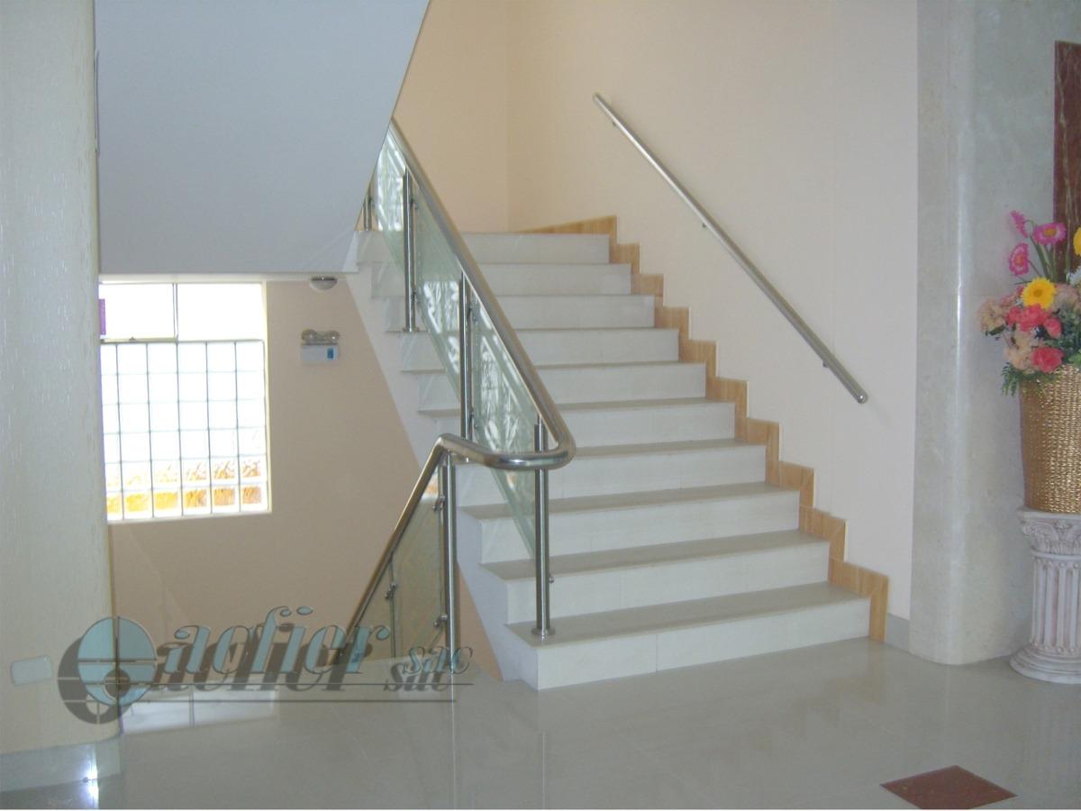 Barandas para escaleras barandas de acero inoxidable - Barandas de escaleras de madera ...