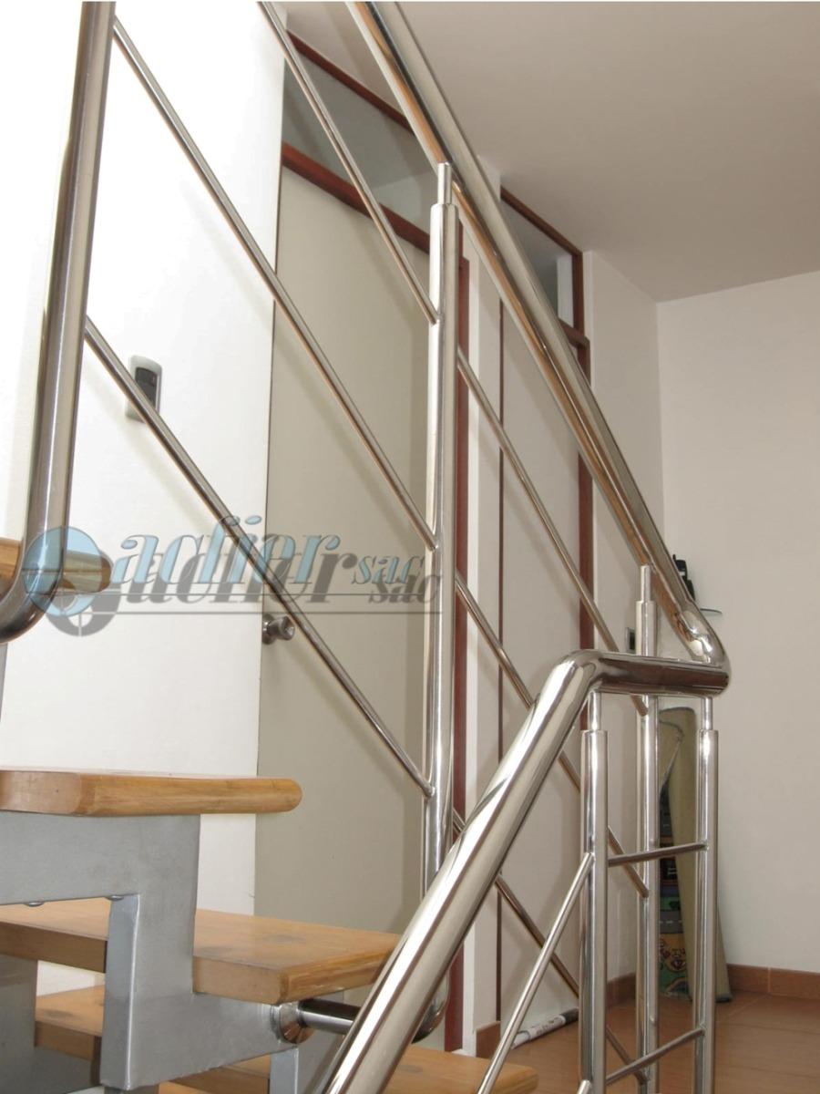 Pin barandas escaleras estebro barandillas acero inox - Pasamanos de acero inoxidable para escaleras ...