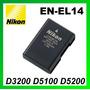 Bateria Original Nikon En-el14 D3100 D3200 D5100 D5200 D5300