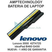 Bateria Laptop Lenovo 3000 Ideapad G430 42t4725 B460 Z360