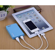 Power Bank 12000 Cargador Portatil Iphone Galaxy, Ipod, Mp3